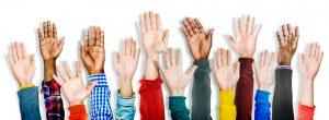 hands-up-volunteer